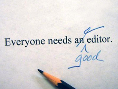 Why do you need an editor?